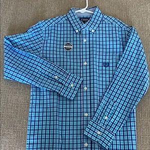 Boys Chaps long sleeve Button down shirt